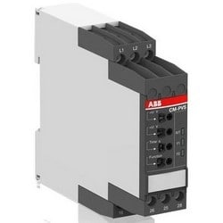 Phase de surveillance relais, Phase 3, 500 Volt AC à 50/60 Hertz, 4 Ampère à 230 volts, 24 volts, commutation, SPDT, bornier à vis, 22,5 MM largeur x profondeur MM 103,7 x 85,6 MM hauteur