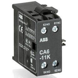 Contact auxiliaire, 600 volts AC/DC, 22 à 10 AWG échoués, 7 Lb-po, 20,3 MM longueur x 46,5 MM largeur x 48,5 MM hauteur, IP20, pour les Mini contacteur K6/KC6