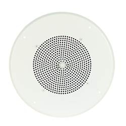 AS1 with ceiling grille, white, fixed knob, 50 mA