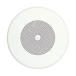 Amplifié haut-parleurs, AS1 avec grille de plafond, bouton blanc, détachable, 50 mA