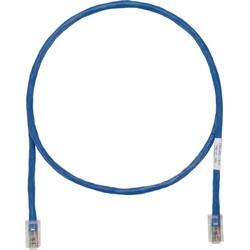 PATCHCORD CAT5E UTP 8P STRAND LSZH BLUE NO BOOT MOD PAN-PLUGBOTH ENDS 7MT