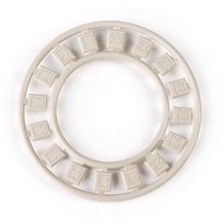 Modular Faceplate Icon Ring, Ivory