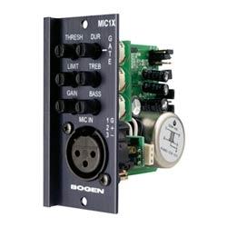 Module d'entrée MIC, transformateur isolé, XLR
