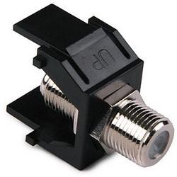 F Connector Module, Black