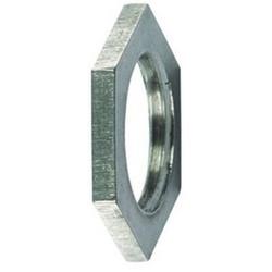 """HelaGuard Metallic Locknuts, 1.25"""" NPT Thread, 1.25"""" Dia, PA66, NPB Metal"""