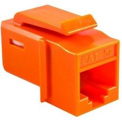 GST Category 5e UTP Modular Keystone Jack, Orange