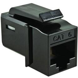 GST Category 6 UTP Modular Keystone Jack, Black