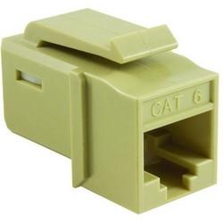 GST Category 6 UTP Modular Keystone Jack, Ivory