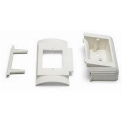 OFFSET BOX - OFF-WHITE