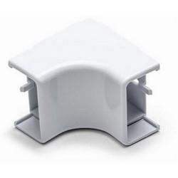 "Internal Corner Cover, 1.75"", 1"" Bend Radius, PVC, White"