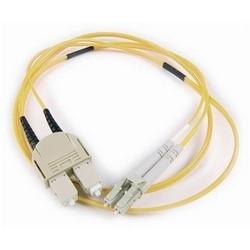 FT LC - SC Duplex OS2 Fiber Assembly, 2M, Yellow