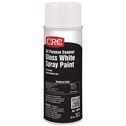 All Purpose Enamel Spray Paint-Gloss White, 10 Wt Oz