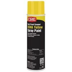 Rust Proof Enamel Spray Paint-OSHA Yellow, 15 Wt Oz