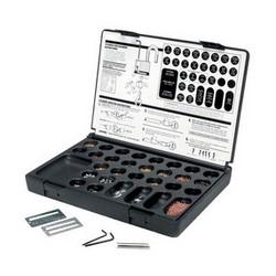 Tumbler Padlock Rekeying Kit, Black