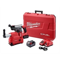 M18 FUEL 1 in. SDS Plus Rotary Hammer & HAMMERVAC Dedicated Dust Extractor Kit