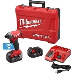 """M18 FUEL 1/4"""" Hex Impact Driver With One-Key Kit"""