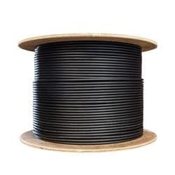Powered Fiber Cable, OM3, 2 Fibers, Indoor/outdoor, 16AWG Conductor, 1000 M