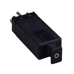 Surge Protection Module, 5-Pin, 3-Element Gas Tube, 350 Volt, 145 Milliampere, 10 Picofarad, 100 Mega Ohm, Black