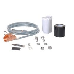 SureGround Grounding Kit for 1-1/4 in corrugated coaxial cable