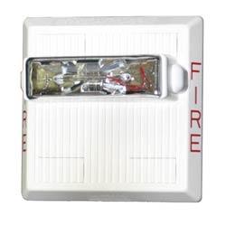 MULTITONE STROBE HORN         24 VDC, WALL MNT, 15/30/75/110CD, WHITE