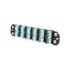 Fiber Optic Distribution Products; FO Distribution Product Type: Adapter Pack Multimode Fiber Optic Connector Style: LC Fiber Optic Connector Type: Duplex Adapter Type: LC