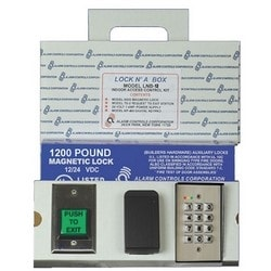 1200 Lbs Lock In A Box With Digital Keypad, Power Supply And TS-2