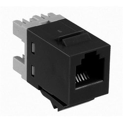 Cable Mounted Jacks; Connector - Modular SL Series Series Jack Type: RJ11 / RJ14 / RJ25 6 Positions Wiring Pattern: USOC