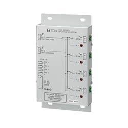 Four-zone speaker line selector