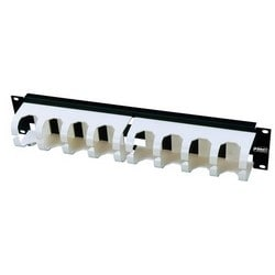 """Wiring Blocks; Cable Management Trough Panel 110Connect Series Mount Type: 19"""" Rack Rack Units: 2 Performance Category: Cat 5e"""