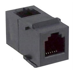 Coupleur modulaire de Keystone, catégorie 3, coupleur à Angle droit, Position 6