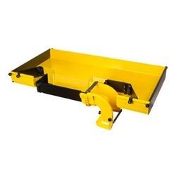 Systèmes de gestion de fibre FiberGuide; Système de la gamme de produits FiberGuide : Type de couvercle du système 4 x 12 : Couleur du T horizontal : jaune