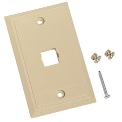 Wall Mount Telephone, One Port Ivory