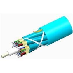 Câble de Distribution plénum, logements multiples 48 fibre avec 12 sous-unités de fibre