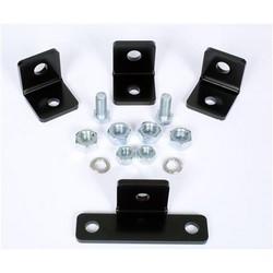 Kit Support Rack universel pour 5/8 à 15,9 mm filetée, noir