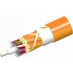 Riser Distribution Cable, 36-Fibers Optispeed, 62.5 Um Nultimode OM1 Fiber, Orange Jacket