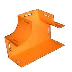 Speedpro Horizontal Tee, 100mm x 100mm (4in x 4in), Orange