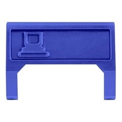 M60 Computer Information Outlet Icon Insert, blue