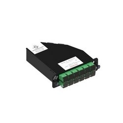 Readypatch Optispeed Keyed Module, 24 LC Ports, Green
