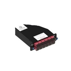 Readypatch Teraspeed Keyed Module, 24 LC Ports, Red