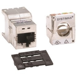 GigaSPEED X10D Shielded High Density Information Outlet (ability to adapt to M-Series and Keystone)