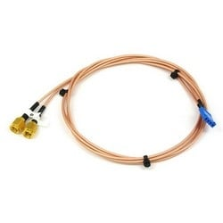 TMA Power Cable, dual SMA male to receive multicoupler, 0.8 m
