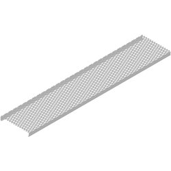 Safety Grated Waveguide Bridge Channel, 12 in x 10 ft