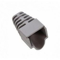 Modular Plug Snagless Boot, For Category 5 And 5E Plugs, Unshielded, 5.33mm, 1000 Per Box, Gray