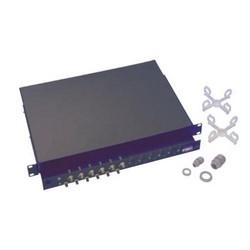 24 port enclosed drawer ST unloaded