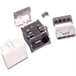 Kit d'Installation Ultra amp CO, Netconnect, Mosaic 45 x 45, blanc pur, disponible en Australie/Nouvelle Zélande, zone EMEA uniquement
