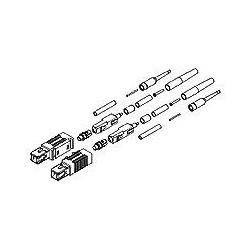 Connecteurs SC; Connecteur connecteur pré poli Epoxyless Design : Câble monobloc Type : enduit fibre - 250 m, bande facile - 900 m, fibre tamponné semi étanche - 900 m, serré dans la mémoire tampon fibre - 900M