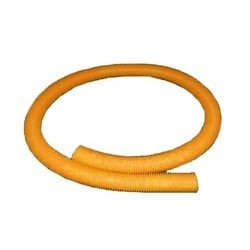 Speedpro Round Convoluted Tube For Drop Solutions, 50mm (2in) OD, 2m, Orange