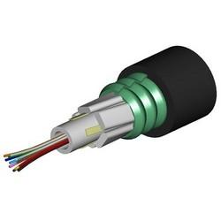 Câble à fibres optiques, tube lâche de la fibre multimode de 6 gigabit fibre 50 125/10 blindés 3,5/1,5 Db/Km 2000/500MHzKm LazrSpeed 30 comcode : 760002477