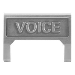 M60 Voice Information Outlet icône insérer, gris