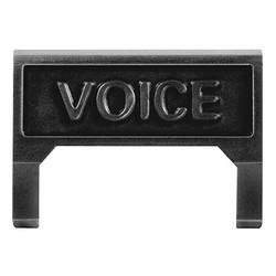 M60 Voice Information Outlet icône insérer, noir